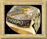 オービックシーガルズ 2010年日本選手権(ライスボウル)優勝記念チャンピオンリング